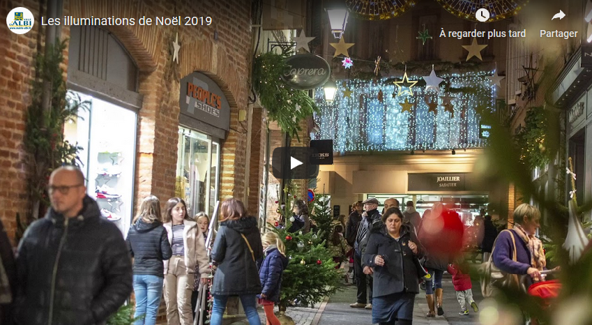 Les illuminations de Noël 2019