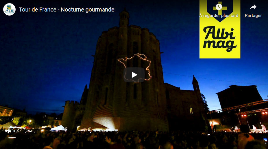Tour de France - Nocturne gourmande