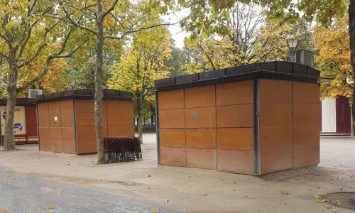 Kiosques du Jardin National