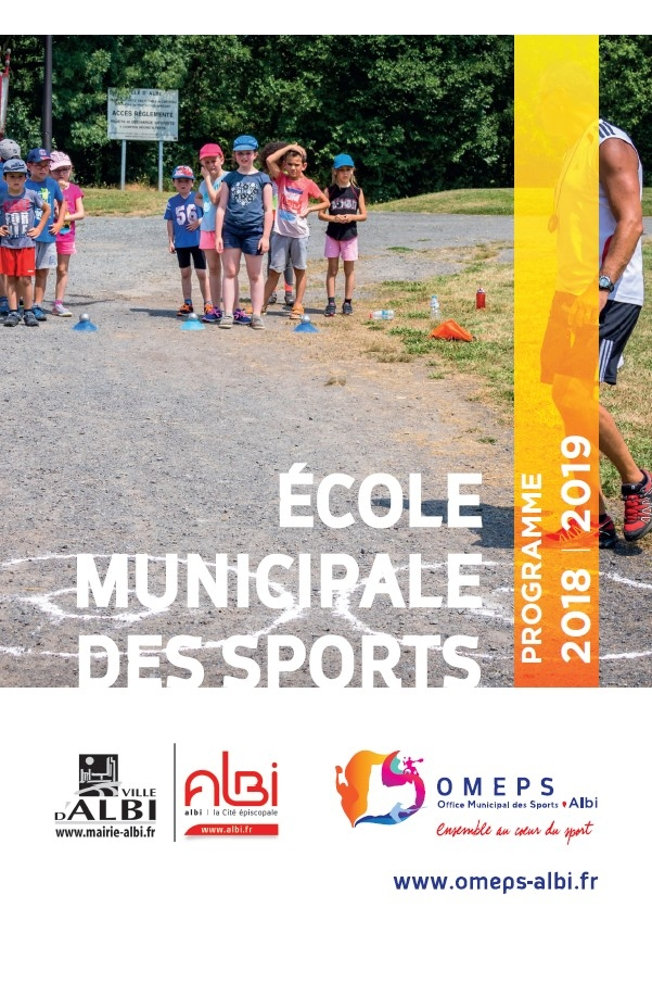 Ecole municipale des sports 2018