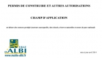 Champ d'application du permis de construire