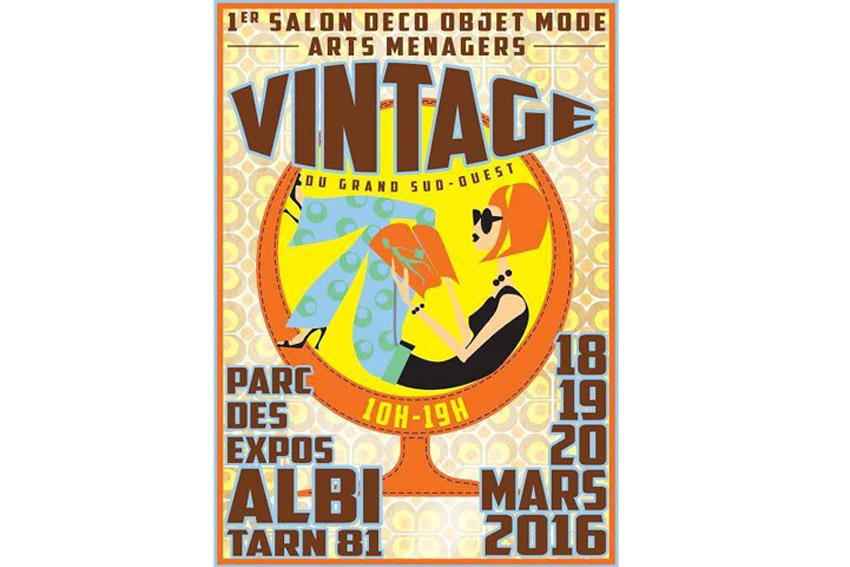 1er salon du vintage du grand sud ouest albi for Salon de the albi